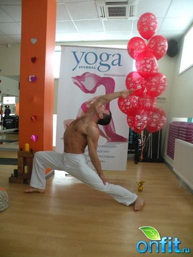 """День йоги в """"Арт-Спорт"""""""