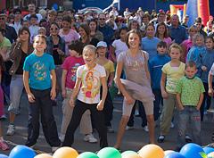 Детский спортивно-развлекательный праздник «Вместе весело…»
