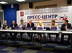Пресс-конференция «Развитие массового спорта в Москве: взаимодействие  власти и бизнеса»