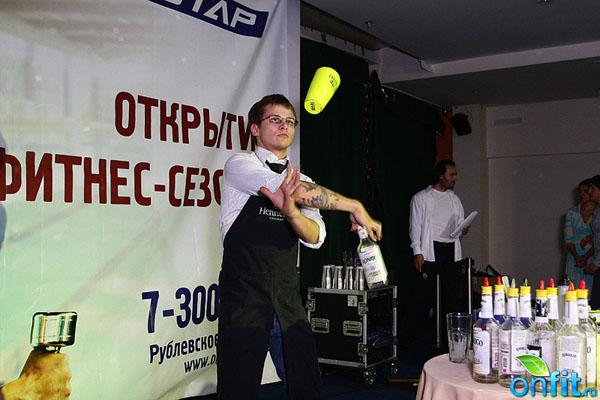 Olympic Star - открытие нового фитнес-сезона
