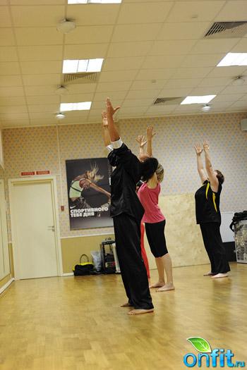 Занятия по тайчи-дэнс в студии персонального тренинга «Планета Фитнес»