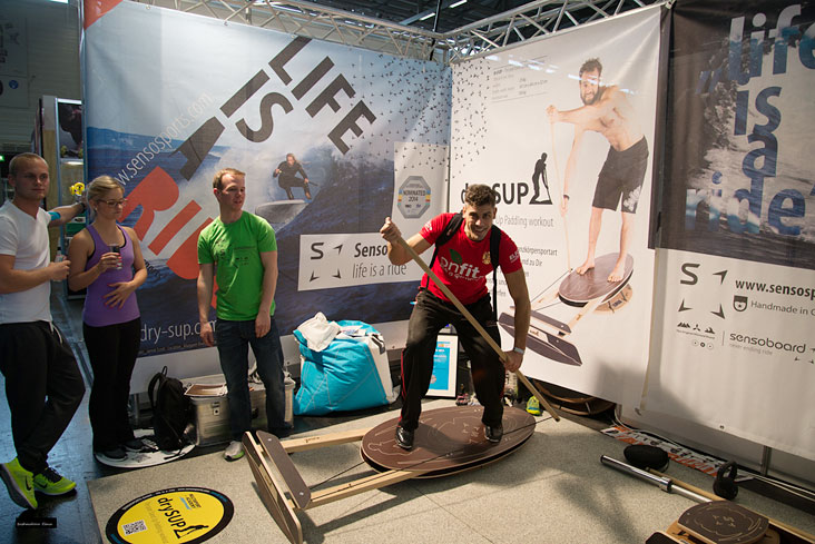 drySUP Trainer. Компания Sensosports GmbH