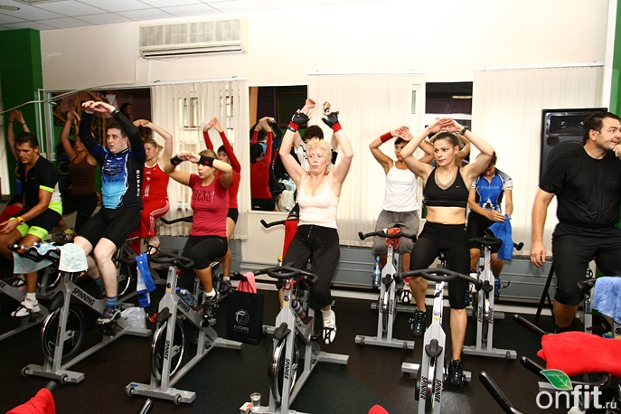 Планета Фитнес. Spinning Competition